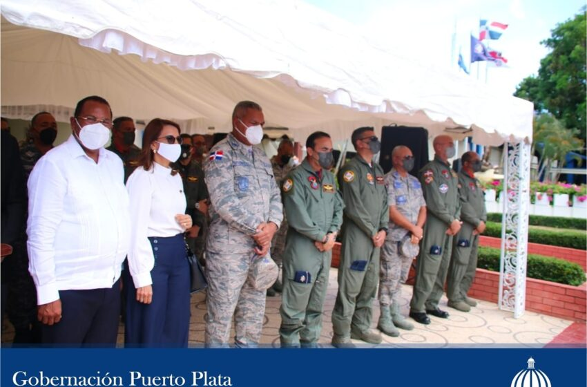 Gobernadora Resalta Designacion Nuevo Jefe Base Aerea Puerto Plata
