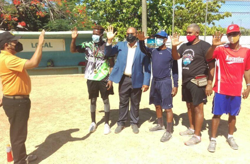Juramentan Delegación Asociación Béisbol Municipio Sosua