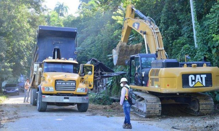 Retoman Trabajos Reconstrucción Carretera Turística Santiago-Puerto Plata