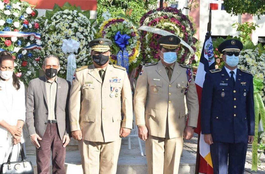 Ministerio Defensa Celebra Actos Batalla Palo Hincado Zona Cotui
