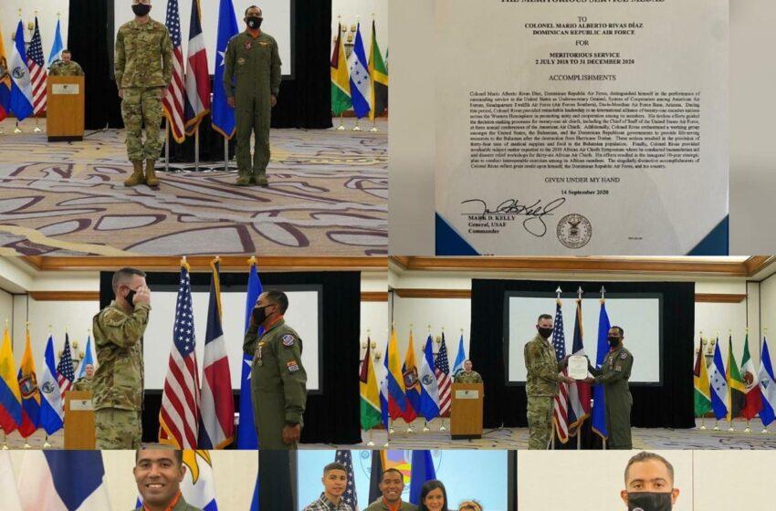 Fuerza Aérea Estados Unidos Reconoce Jefe Militar Dominicano