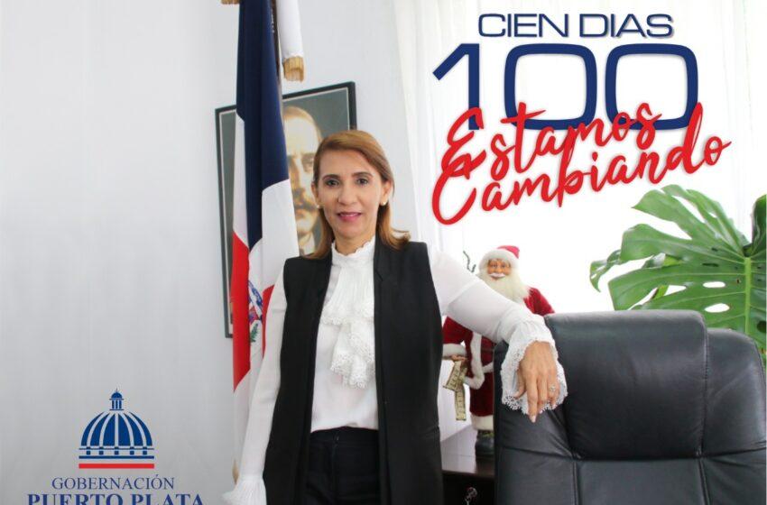 Muestra Logros Primeros Cien Días Gestion Gobernadora Puerto Plata