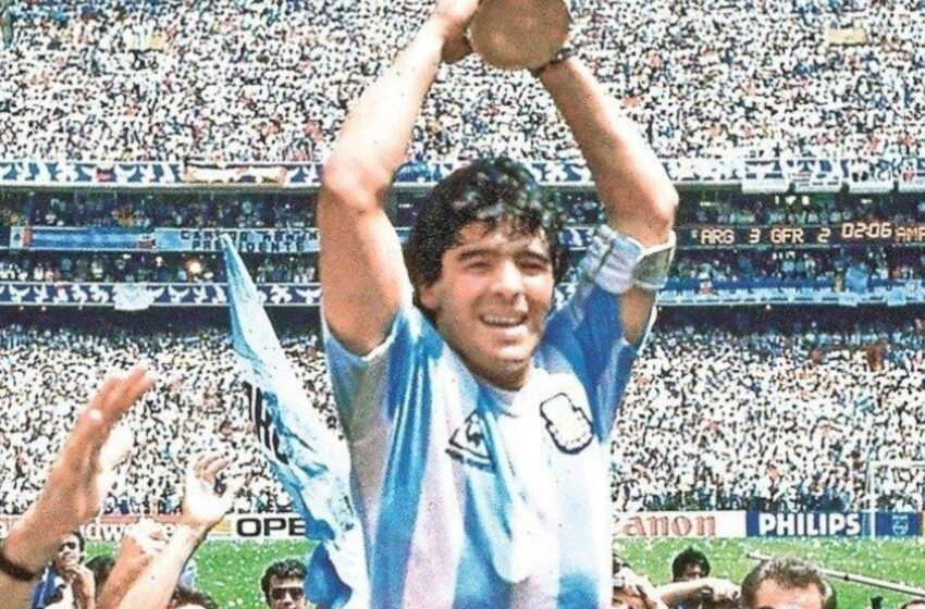 El Mundo del Fútbol Llora Muerte Astro Diego Armando Maradona
