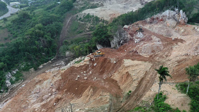 Extracción Rocas, Piedras Minas Provoca Malestar Residentes Altos Cofresi-Puerto Plata