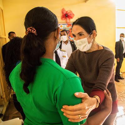 Primera Dama Raquel Arbaje de Abinader Gira Visita Internas Najayo Mujeres