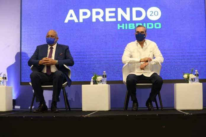 Presidente Abinader Encabeza Acto Apertura Congreso Educación