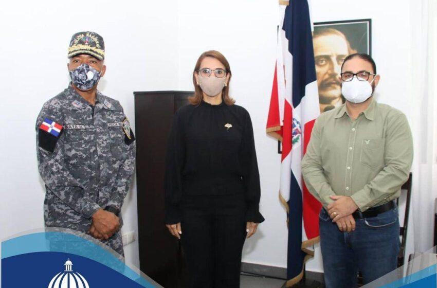 Director CORAAPLATA Gira Visita Gobernadora Claritza Rochette Senior