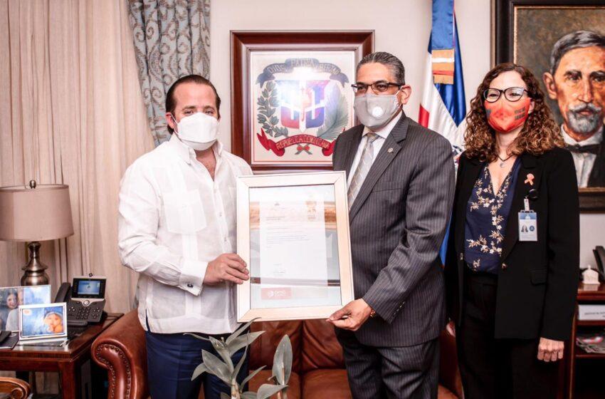 Reconocen Ministro Administrativo Presidencia José Ignacio Paliza