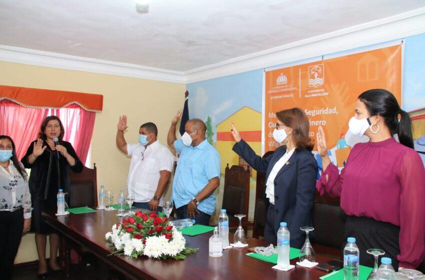Ministerio Interior y Policía Instala Mesa Seguridad Ciudadana Comunidad Montellano