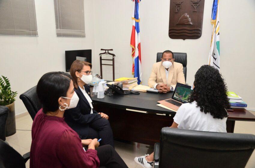 Alcalde García Recibe Visita Delegación Empresa Cruceros «Taino Bay»