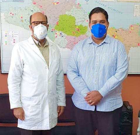 Director Regional Salud Pública Recibe Delegación Promese Cal