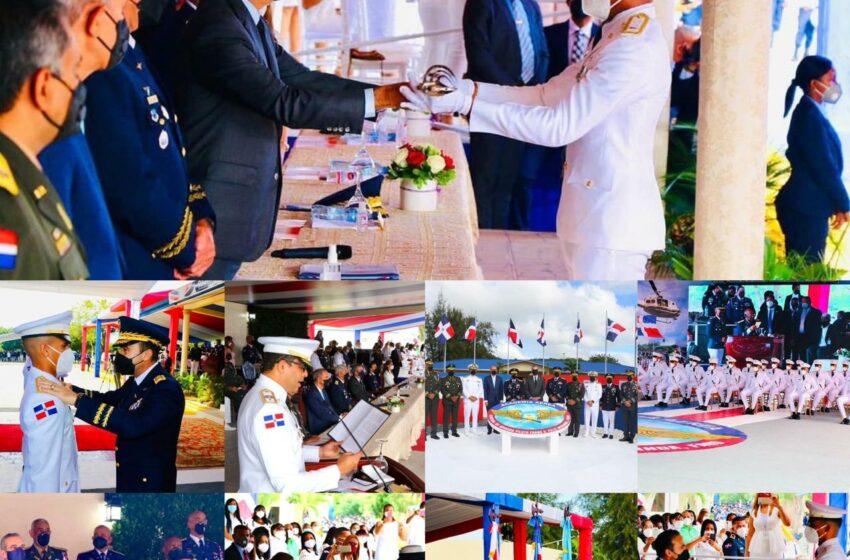 Presidente Abinader Encabeza Acto Graduación Academia Militar