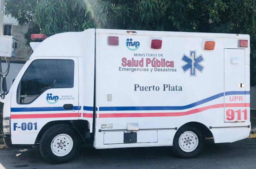 Ministerio Salud Pública Ordena Reparar Ambulancia Hospital Ricardo Limardo
