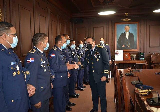 Oficiales Superiores Celebran Encuentro Comandante General Ejército República Dominicana