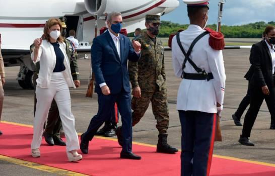 Luis Abinader Regresa Primer Viaje al Exterior Como Presidente