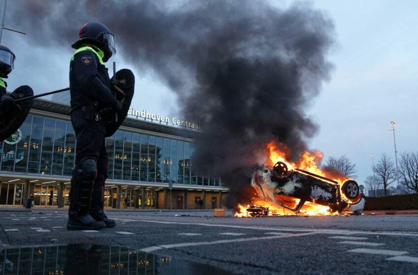 Nuevos Confinamientos Aumentan Disturbios Población Países Bajos