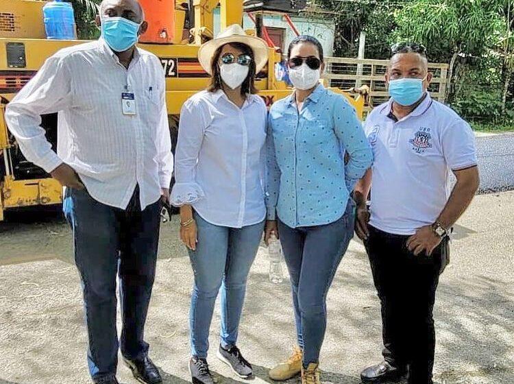 Gobernadora Claritza Rochette Supervisa Asfaltado Carretera La Vijia-El Cupey