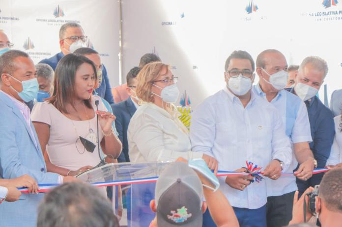 Senador Franklin Rodríguez Inaugura Oficina Legislativa en San Cristobal