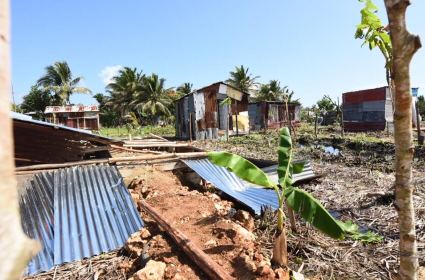 Desalojan 200 Viviendas Construidas Ilegalmente Área Protegida Distrito Cabarete