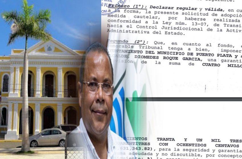Buscan Condenen 4.6 millones Pesos Alcalde, Ayuntamiento Municipio Puerto Plata