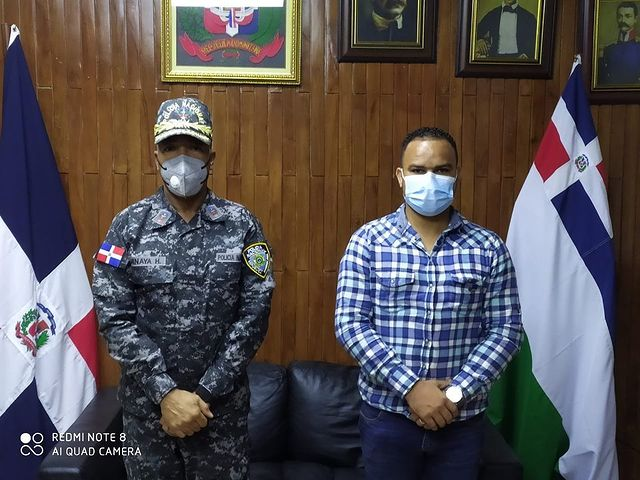 Representantes Mesa Seguridad Visitan General Minaya Herrera