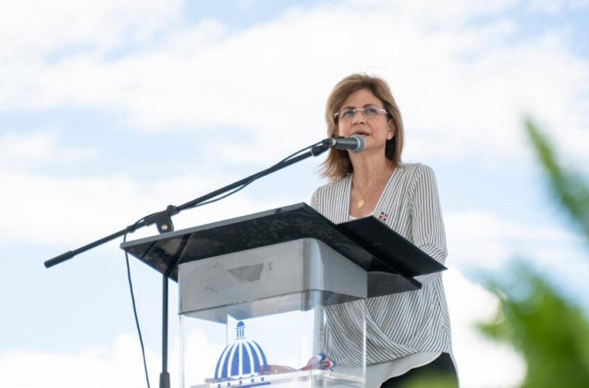 Vicepresidenta Raquel Peña Anuncia Llegada al Pais Lotes Vacunas Chinas