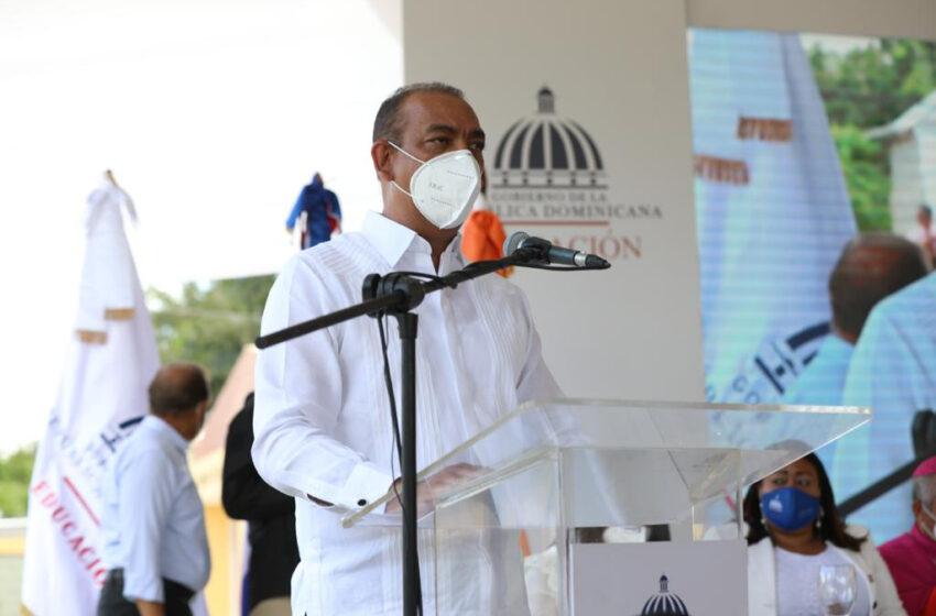 Ministro Obras Públicas Resalta Apertura Escuela Montellano-Puerto Plata