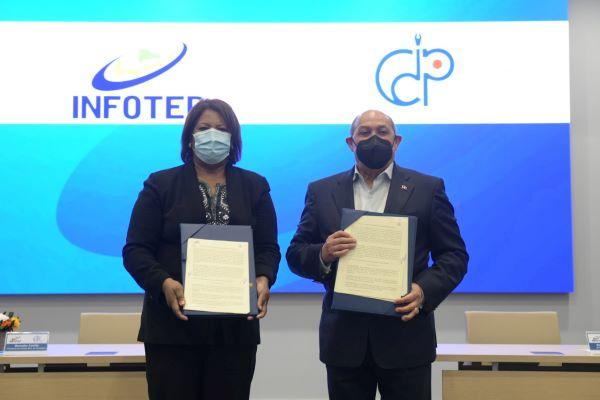 El CDP-Infotep Firman Acuerdos Capacitación Comunicadores Nacionales