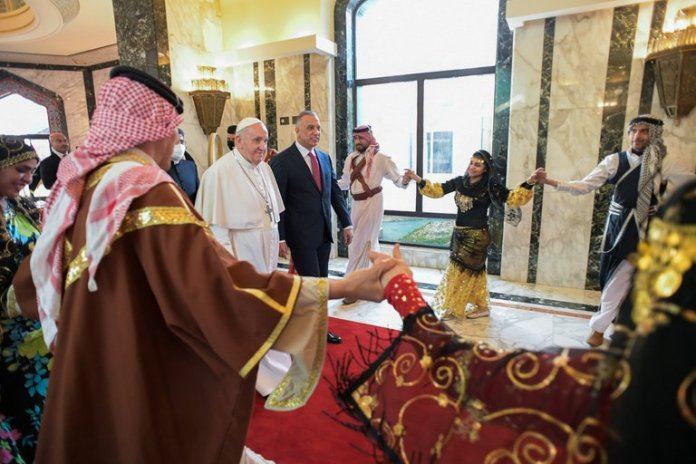 Revelan 10 Mil Hombres Cuidan Llegada Irak Papa Francisco