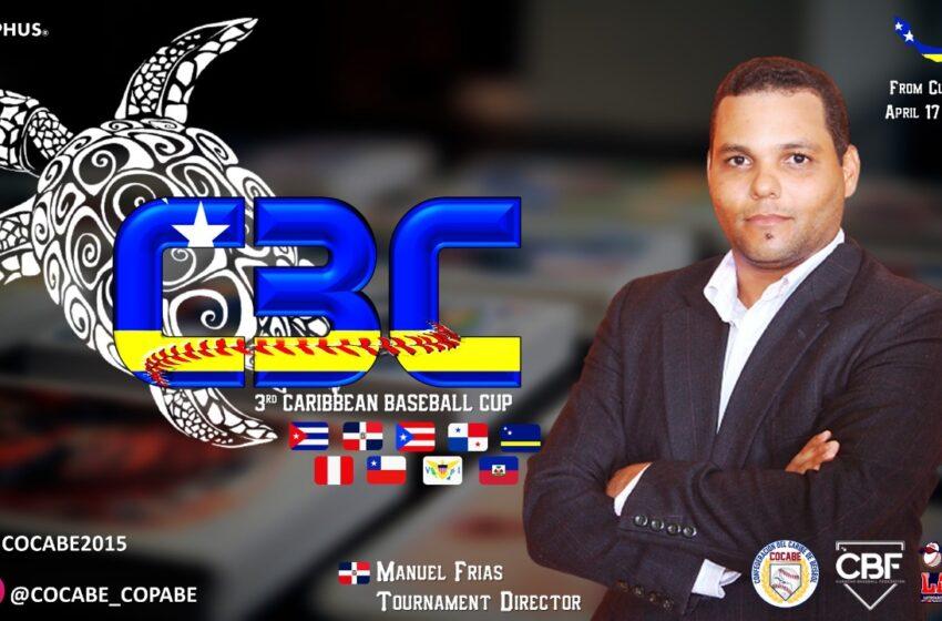 Cronista Manuel Frías Designado Director Copa Béisbol Región del Caribe