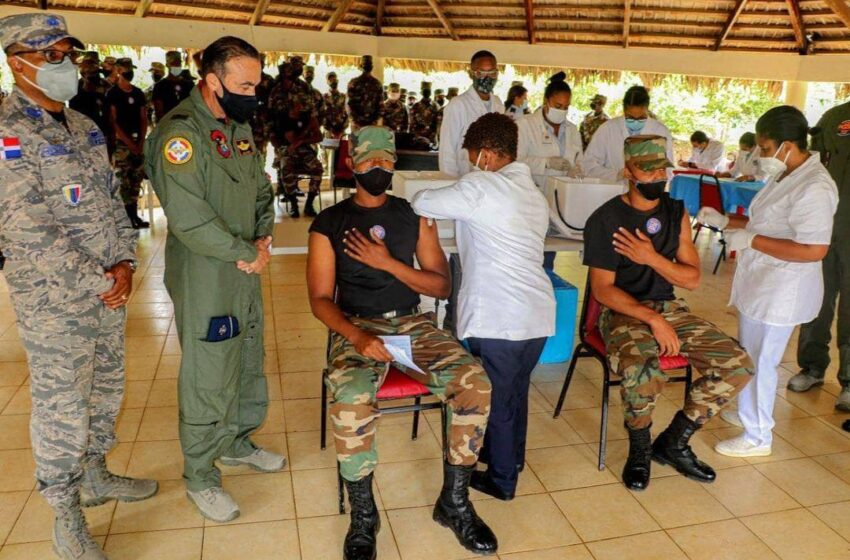 Inician Proceso Vacunación Militares Base Aérea Puerto Plata