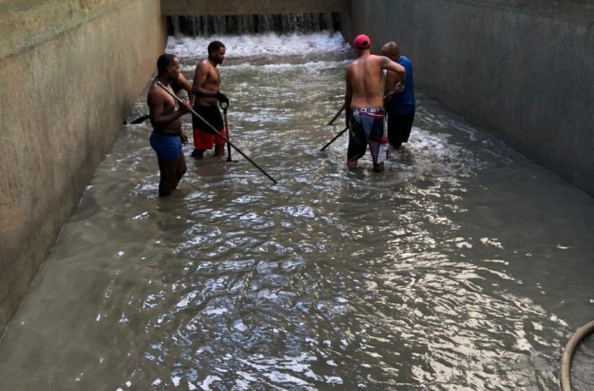 La CORAAPPLATA Somete Limpieza Obra Toma Acueducto Puerto Plata