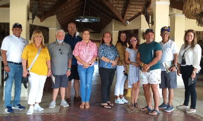 Grupo Mayoristas Turismo Estados Unidos Visitan Destino Puerto Plata